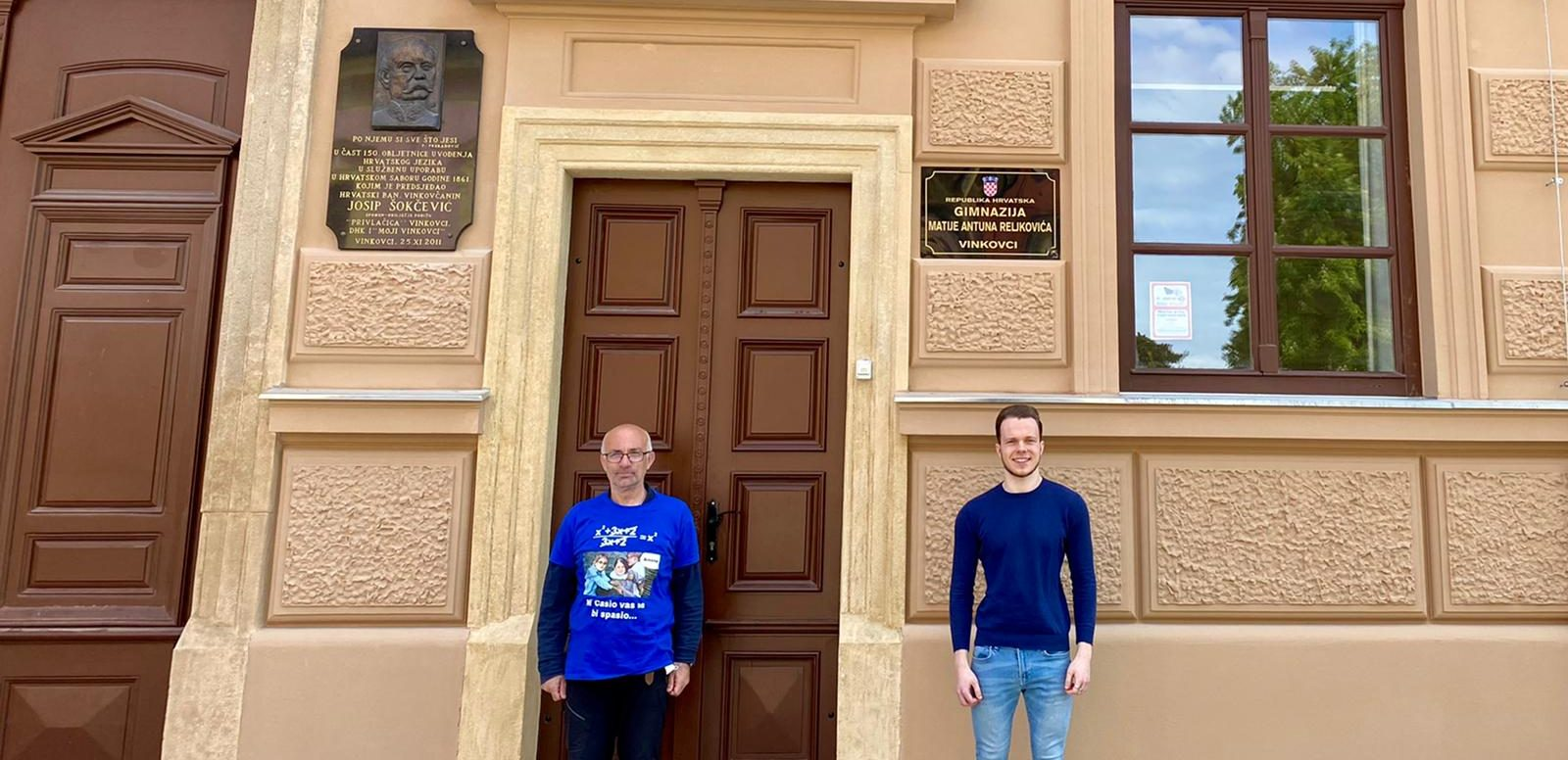 David i mentor prof. Krpan
