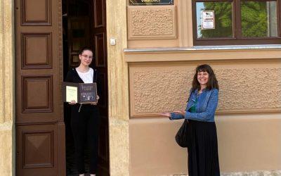 2. mjesto na natječaju za najbolji esej – zastupnički govor naše učenice Helene Kuprešak