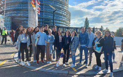 BUDUĆNOST JE NAŠA – učenici Gimnazije M. A. Reljković, Vinkovci na europskom susretu mladih EYE21 u Strasbourgu